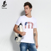 novel design custom american flag white t shirt
