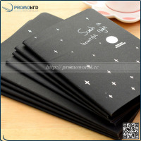 Black Paper Notepad Stationery Sketch Graffiti