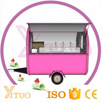 Can Be Customized Mobile Popsicle Ice Cream Cart