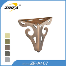 Stable metal table leg stabilizer
