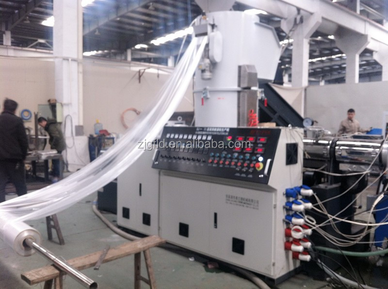 Waste Recycling Plastic Film Granulating Line