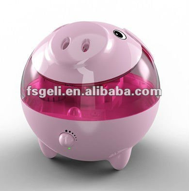 Cute Piggy 2.8L ultrasonic with Night Light Air Humidifier