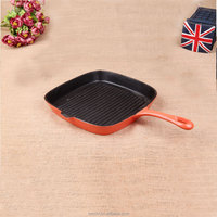 hot sale product iron enameled little size frypan