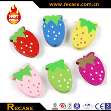 Fruit Shape Wooden Beads with Color Painted
