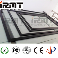 58 inch DIY Infrared multi touch frame for televisions at home