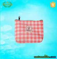 wholesale canvas cotton small cosmetic bag