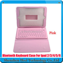 Bluetooth Keyboard Case Cover For Apple iPad 2 3 4 5 6/For iPad Air 1 2/For iPad Mini 1 2 3
