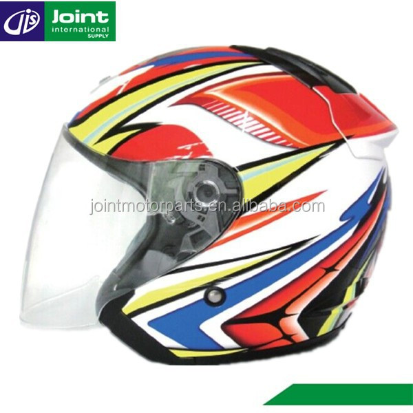 Stylish ABS Motor Bike Scooter Helmet ECE Motorcycle Helmet Open Face Helmet