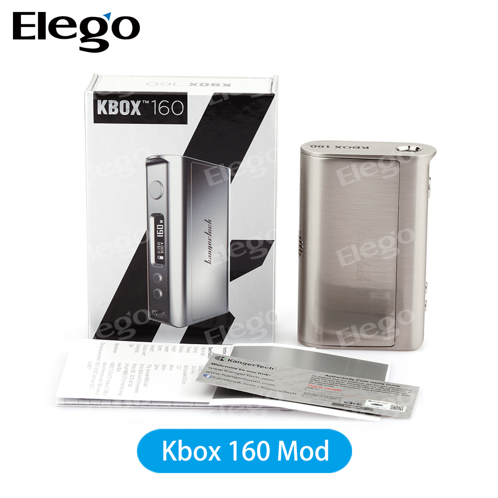 New Arrival 100% Original 160W TC Box Mod Kangertech Kbox with Protank 4