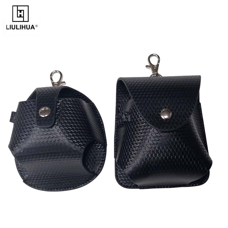 Wholesale Multifunction Golf Bag Durable PU Leather Golf Ball Bags golf ball holder