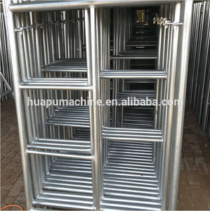 Leader steel a frame scaffolding and packing (01)