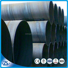 spiral seam submerged arc welded steel pipe price for hydropower plant