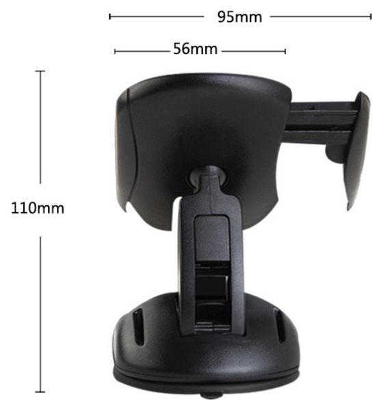 Easy one touch car mount car dashboard sticker phone holder car holder