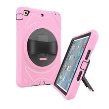 kickstand shockproof Universal handheld case cover for Ipad mini