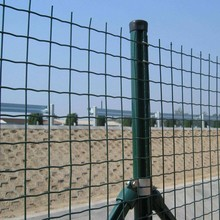 Green color Euro Market Building Holland Welded Wire Fence welded mesh
