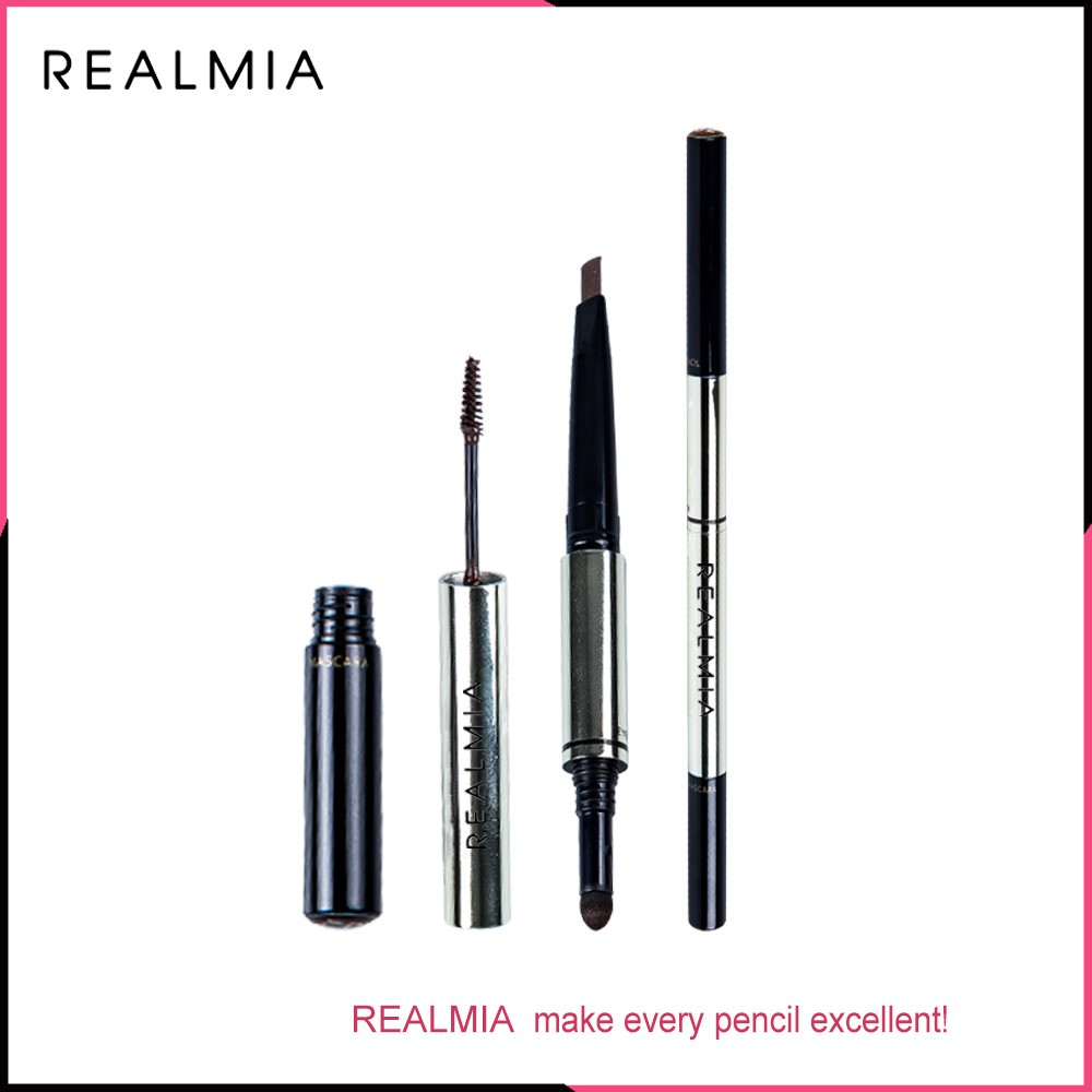 Automatic Waterproof Double-head Eyebrow Pencil