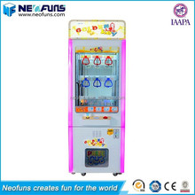 2016 New Arrive Colorful Lights Mini Golden Key or Key Master Push Gun to Win Toys Vending Arcade Game Machine for Sales