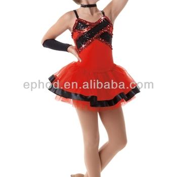 cute ballet tutu dress with sequinstage dance costume2014 dance dress epc