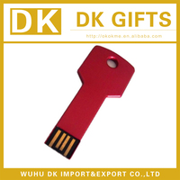 Promotional cheap key shape USB flash drive for promotion