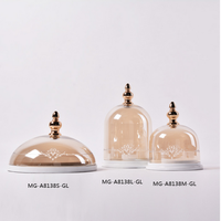 Glass Cookie Jars Small Decorative Jars
