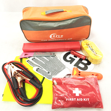 Roadside Car Emergency Kit with Magnet Sticker