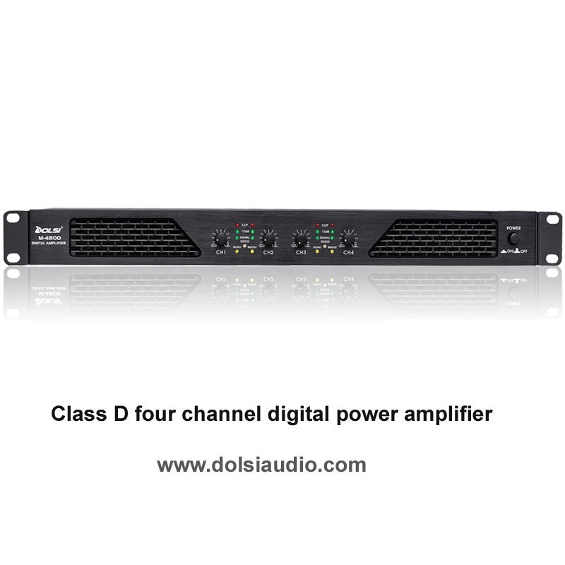 Wholesale 4 Channel PRO Audio Digital Professional Power Amplifier (M4800)