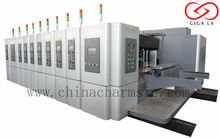 GIGA LX Carton Box Making Production line High Speed Automatic carton folding gluing machine mix colors