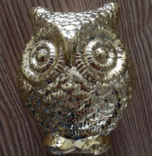 2016 Hot Sale&new products Christmas Fashionable plastic gold cute night owl PET toy