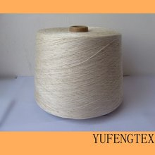 65% Polyester / 35% Flax Ne 30s Yarn Waxed for knitting
