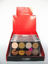 ES-045 garson long-lasting Earth Warm Color Shimmer 8 colors eyeshadow