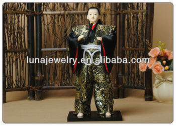 "12"" Japanese Samurai Doll,samurai figurines"