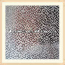 0.1-0.6mm Linen Embossed paper of Good Quality