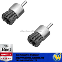 Heavy Duty Twist Knotted Wire End Brush