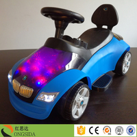 2 In 1 Baby Swing Sliding Racing Car Toddler Kids Push Car toys children Ride On real toy cars