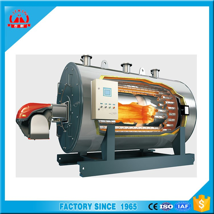 Trade Assurance security Automatically horizontal fire tube gas/ oil fired Generation Equipment boiler