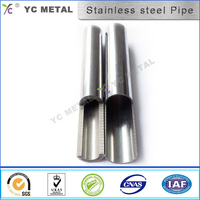 1 to 10 mm Round Seamless 304 Stainless Steel Pipe