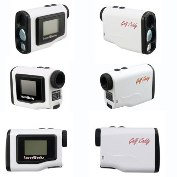 Sleek design distance measure mini golf rangefinder 600m with Jolt