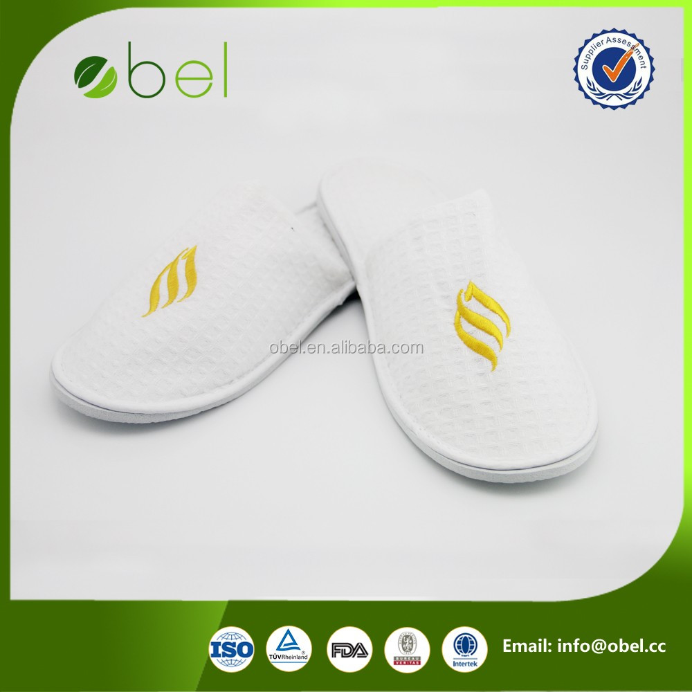 hotel customized lady customizable logo slipper