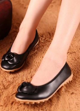 New style high quality low price pleasant beautiful design flower mother dancing shoes