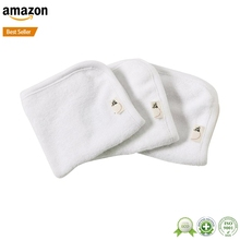 China Supplied Bamboo cotton muslin wash cloth baby face towel
