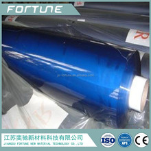 0.5mm plastic film breathable clear blue pvc film