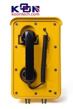 Power Line Carrier Communication Manufacturer Ip67 Telephone KNSP-10 Auto-dial Weatherproof Emergency Telephone