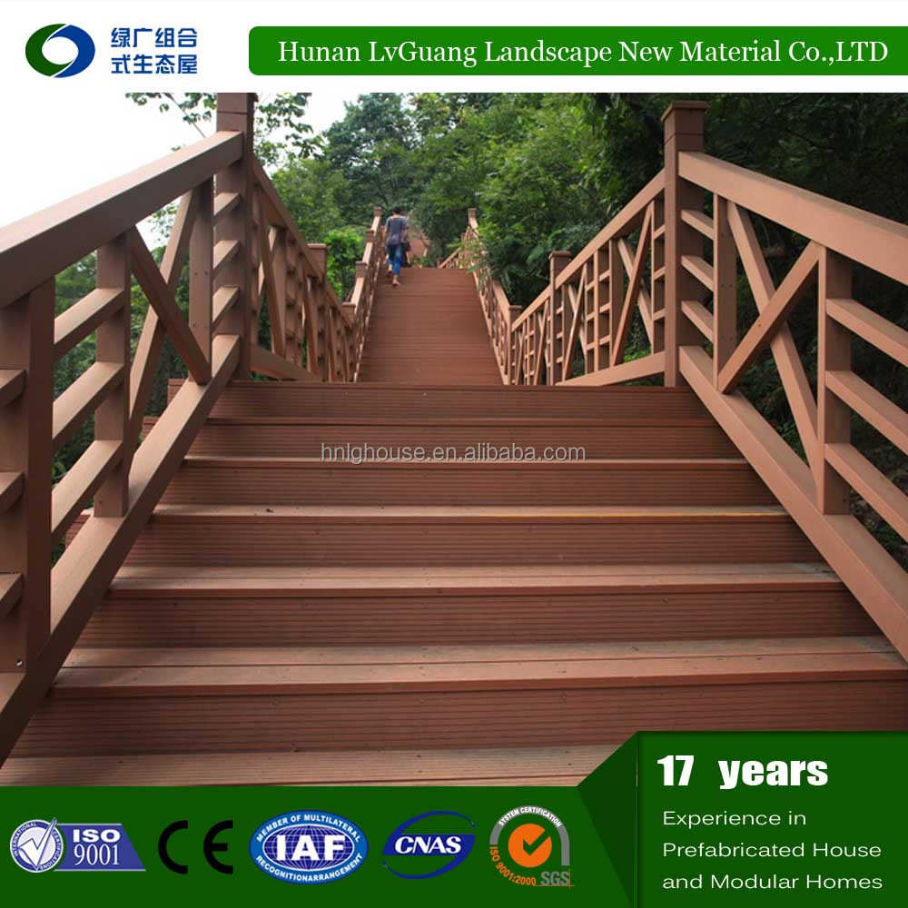 Cheap price WPC decking composite wood from factory