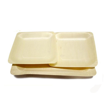 High quality bamboo wood dishes plates disposable for sale