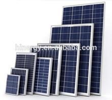 fast delivery good quality small 12v 30w mono crystalline solar panel