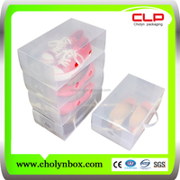 transparent plastic shoe box for packaging wholesales alibaba