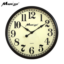 Best Selling Round Wall Mounted Wooden Quartz Wall Clock