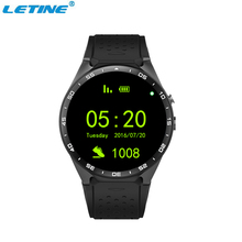 Top Sale MTK6580 Hand Watch Mobile Phone Round Screen Smartwatch for Branded Apple KW88 Camera Smart Watch Android Wristwatch