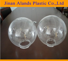 High quality clear acrylic hollow plastic sphere