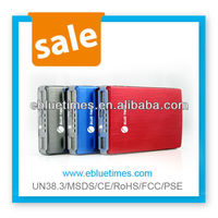 Elegant book-shaped design 14000mah colorful power charger for cell phone